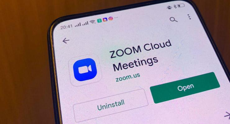 Cara memulai Zoom Meeting di Smartphone