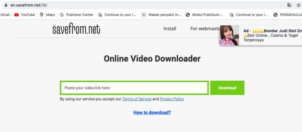 Cara download lagu dan Video daro Youtube gratis