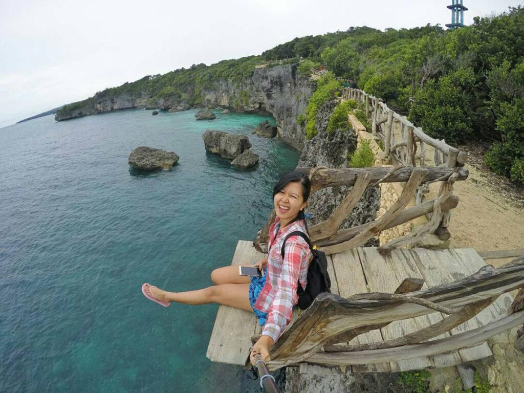 Tebing Apparalang Cewek Cantik Selfiea