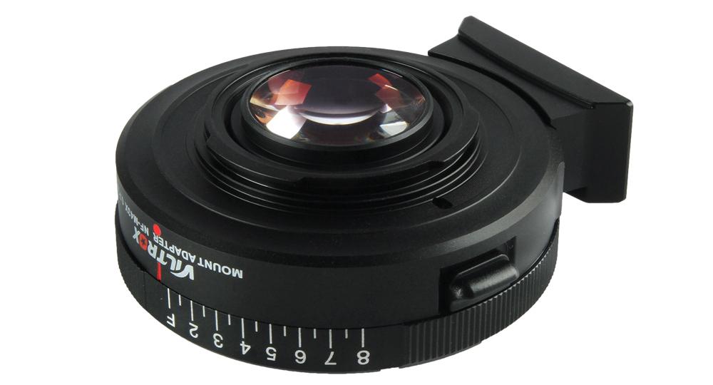 Lensa adaptor Viltrox buat Vigente alami