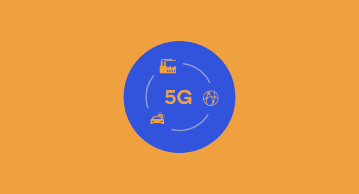 Teknolgi Jaringan 5G telekomunikasi