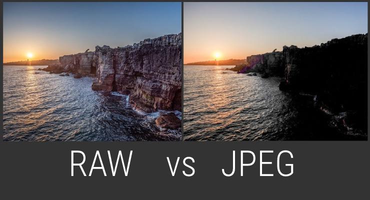 Perbedaan File dengan Tipe JPEG dan RAW