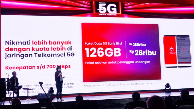 Promosi Jaringan 5G dari Telkomsel