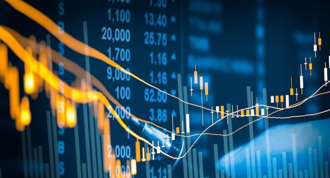 Grafik fluktusi nilai saham yang dimanfatkan para trader untuk main saham